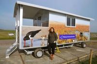 Frag den Wattwächter! Infoposten informiert vor Ort über Texels Natur
