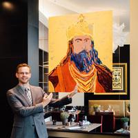 Zu Tisch mit Karl dem Großen