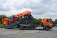 BMD RA 700/7 erstmals im Einsatz auf der recycling aktiv