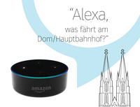 "Nachgefragt: TheAppGuys entwickeln ""Köln Abfahrtsinfo"" für Amazon Alexa"
