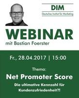 Live-Webinar zum Thema Net Promoter Score
