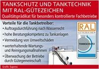 Tankschutz und Tanktechnik mit RAL-Gütezeichen