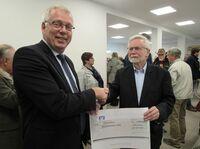 Rüsselsheimer Volksbank spendet 1.000 EUR