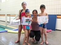 120 Kinder erschwimmen sich ihr Seepferdchen