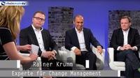 Rainer Krumm zum Thema Veränderung und Werte bei RheinMainTV