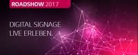 Digital Signage Roadshow 2017: Power-Trio setzt auf einzigartige Synergien