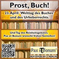 Prost, Buch! Wir feiern das Lesen!