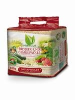 Erdbeer- und Gemüsewolle von Pro Natur