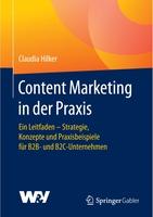Neues Fachbuch von Dr. Claudia Hilker: Content Marketing in der Praxis