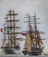 Pre-Sail Texel: Spektakuläre Eröffnungsfeier zu historischem Großsegler-Event