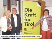 Wirtschaftsbund Tirol: Vortrag - Robert Zach über PR, Press release