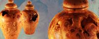 Urnen aus Wurzelholz - Für eine ökologische Bestattung