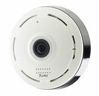 7links 360° IP-Überwachungskamera mit Nachtsicht