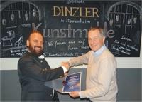 Kaffeerösterei Dinzler wurde zum beliebtesten GRANDER-Partnerbetrieb 2017 gewählt