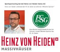 Sportsponsoring bei der Heinz von Heiden Swiss AG