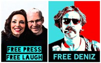 Free Press - Free Laugh -. Free Deniz!