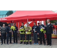 Park Inn by Radisson Berlin Alexanderplatz: 7. Berlin Firefighter Stairrun am Alex