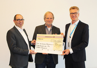 Arvato Financial Solutions spendet 5000 Euro an terre des hommes