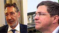 Jann Jakobs (SPD) und Mike Schubert (SPD) - Rücktrittsforderungen in Potsdam