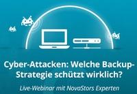 NovaStor-Webinar: Backup-Strategien zum Schutz vor Cyber-Attacken & Ransomware