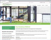 Ärztehaus Weilrod präsentiert sich mit neuer Homepage