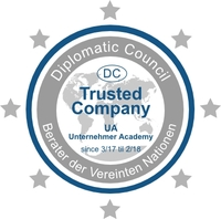 Unternehmer Academy ist nun Trusted Company im Diplomatic Council