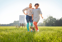 showimage Diese Trendfarben geben den Ton an - Ödemtherapie: Kompression in Mintgrün, Koralle und Jeansblau