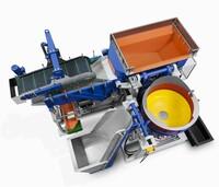 Turbotron-Fliehkraftanlagen mit Spaltspülung bearbeiten extrem dünne Teile schonend