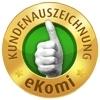 Intakt-Reisen wird mit der Gold-Bewertung von eKomi ausgezeichnet