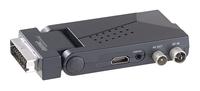 DVB-T/T2-Empfänger mit SCART, HDMI und USB-Mediaplayer, HEVC/H.265