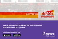 Leadership-Lösung ActExs auf der ATD-Konferenz 2017