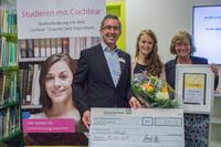 Ehrung für gehörlose Patientin der Universitätsklinik Aachen
