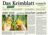 "EURALIS Kundenzeitung ""Das Keimblatt"""