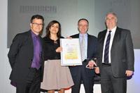 Robuschi gewinnt den Motion Control Industry Award 2017 für Energieeffizienz