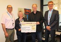 Arvato Financial Solutions unterstützt Projekt der Lebenshilfe für Demenzkranke mit 5000 Euro