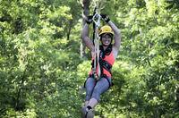 Kletterspaß für Abenteurer: Ziplining nahe des Mississippi