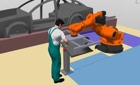 Perfekte Simulation garantiert Akzeptanz für Mensch-Roboter-Interaktion