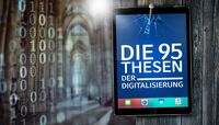 """IBsolution und Partner erarbeiten Studie """"Die 95 Thesen der Digitalisierung"""""""
