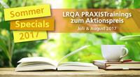 Sommerspecials 2017 - Nutzen Sie den Sommer!
