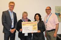 Arvato Financial Solutions unterstützt Gütersloher Tafel mit Spende in Höhe von 5000 Euro