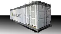 Solibra hat auf der Intersolar den neuen Energiespeicher VANADURO vorgestellt
