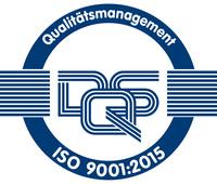 Erfolgreiche Zertifizierung nach ISO-Qualitätsnorm 9001:2015