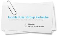 Ankündigung: Joomla User Group Karlsruhe trifft sich bei der formativ.net Internetagentur