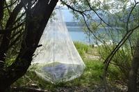 Imprägniert auf rein pflanzlicher Basis: die neuen Moskitonetze von Brettschneider