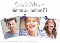 Pressemitteilung: Schiefe Zähne können beim Lachen hemmen