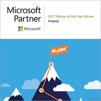 M-Files ist Microsoft-Partner-of-the-Year-2017