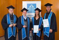 Wilhelm Büchner Hochschule feiert mit ihren Absolventinnen und Absolventen