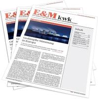 E&M startet KWK-Newsletter - für KWK-Experten der BHKW-Branche