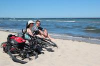 Radeln und Baden: Radurlaub am Strand und Meer