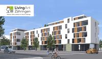 Grundsteinlegung für das Immobilienprojekt LivingArt in Freiburg Zähringen